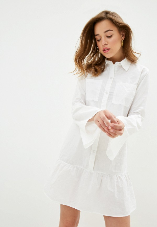 Фото - Женское платье NA-KD белого цвета