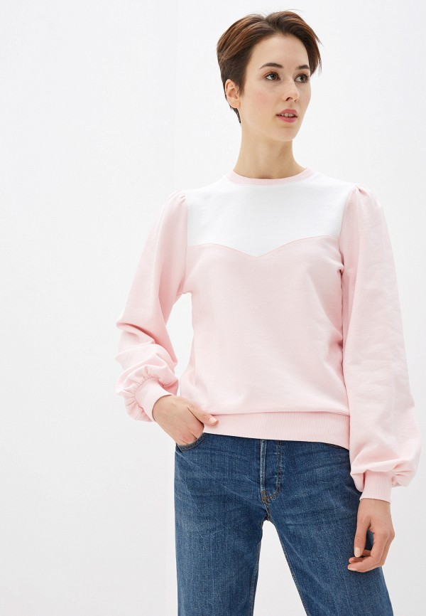женский свитшот na-kd, розовый