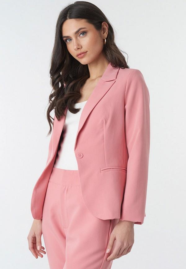 женский пиджак na-kd, розовый