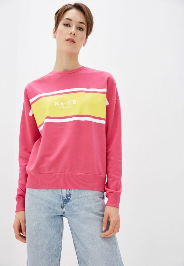 женский свитшот na-kd, разноцветный