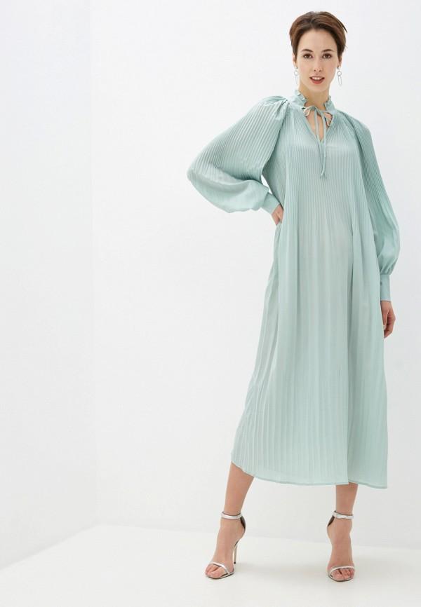 женское вечерние платье na-kd, бирюзовое