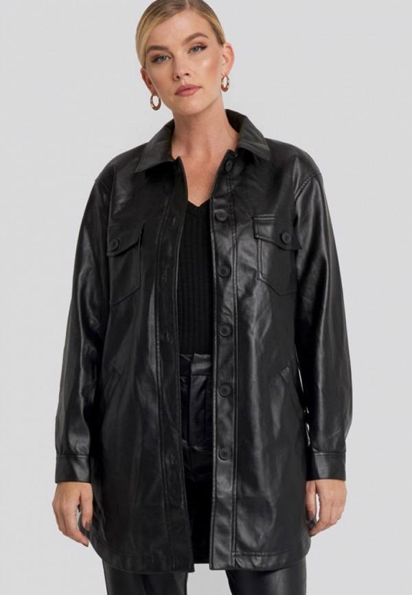 женская куртка na-kd, черная