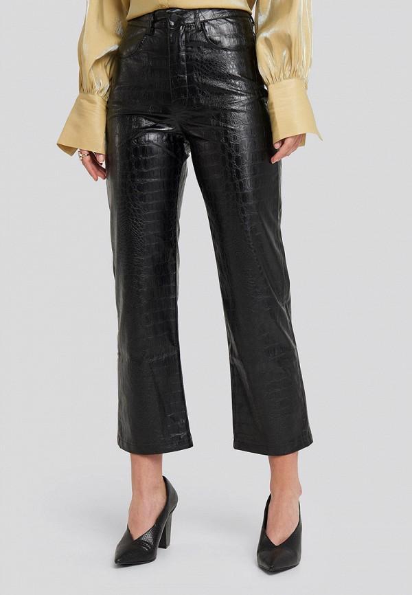 женские брюки na-kd, черные