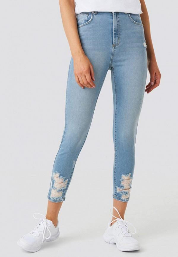 женские джинсы na-kd, голубые