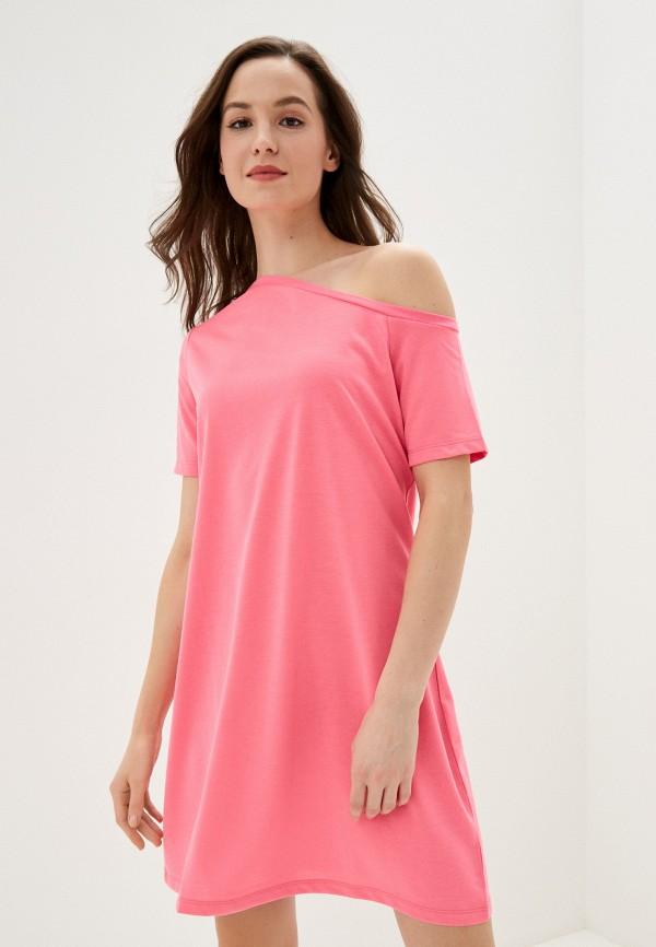 женское платье na-kd, розовое