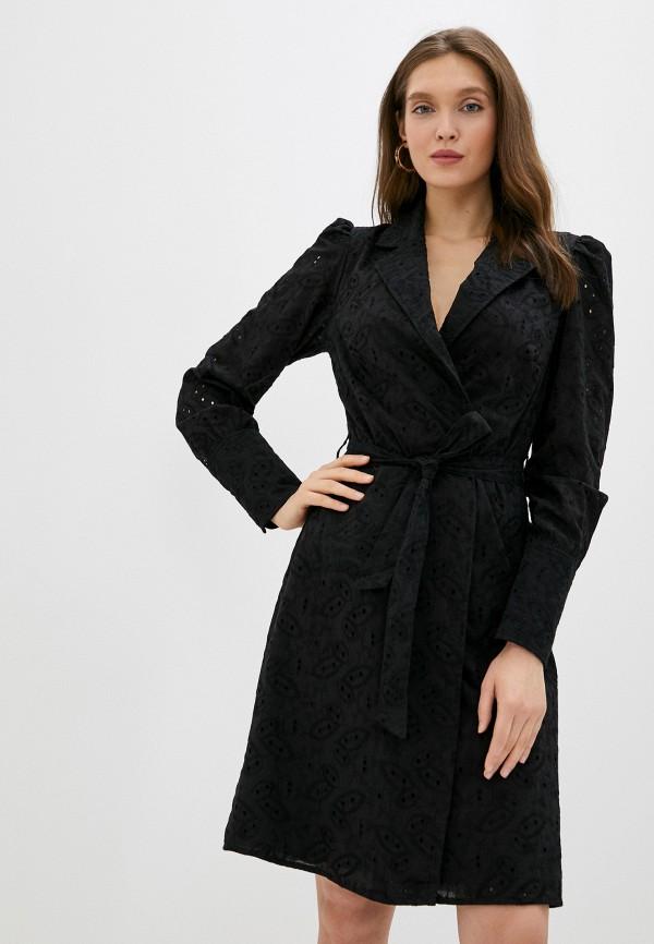женское платье na-kd, черное