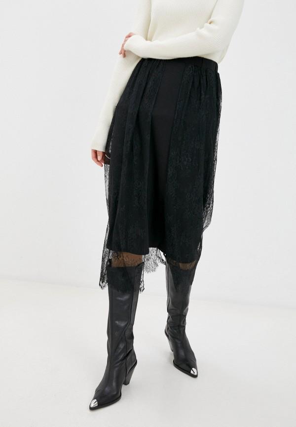 женская юбка nataliy beate, черная