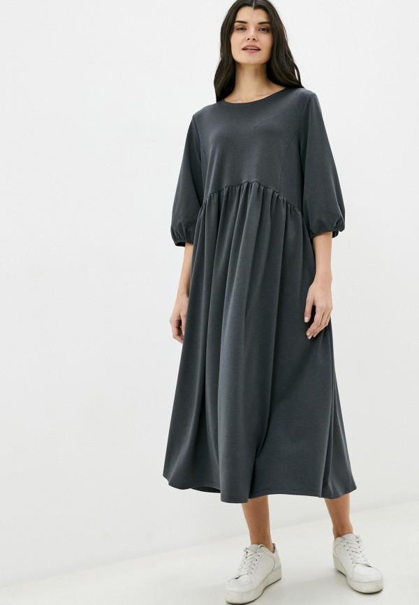 женское повседневные платье nataliy beate, серое