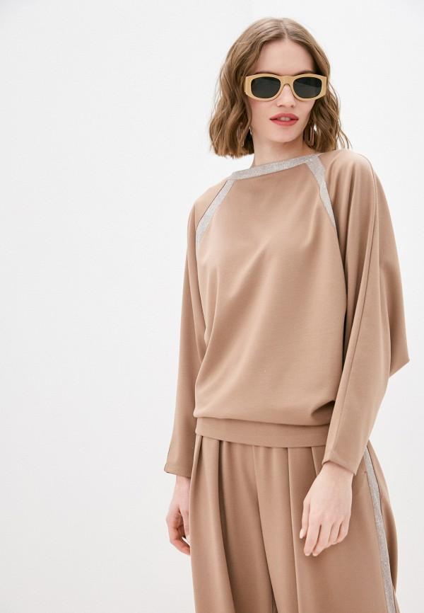 женская блузка nataliy beate, бежевая
