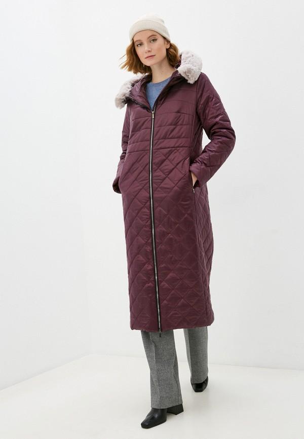 женская куртка nataliy beate, бордовая