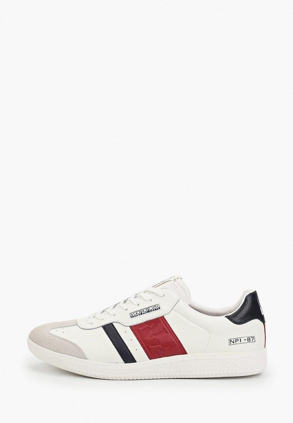 мужские кроссовки napapijri, белые