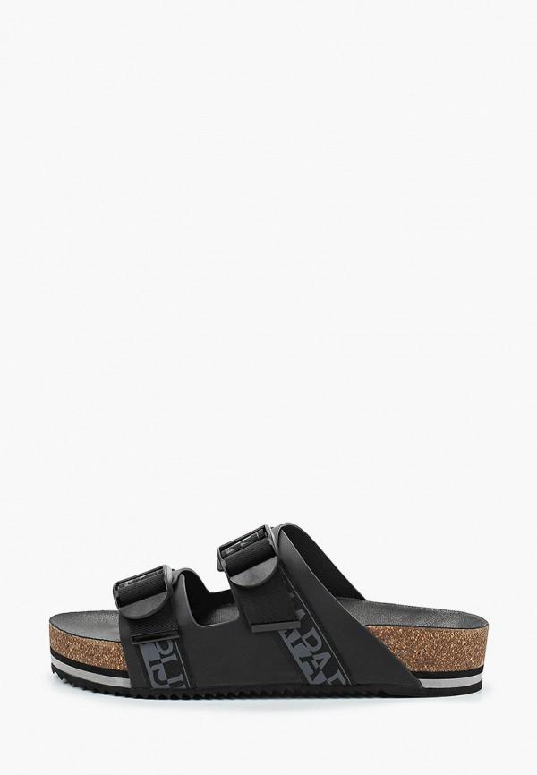 мужские сандалии napapijri, черные