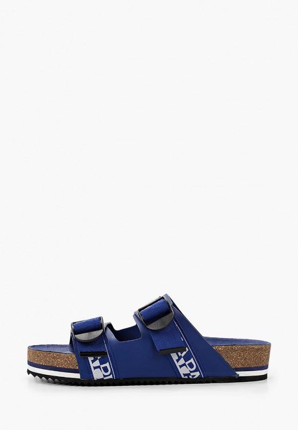мужские сандалии napapijri, синие
