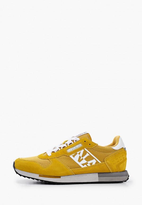 мужские кроссовки napapijri, желтые