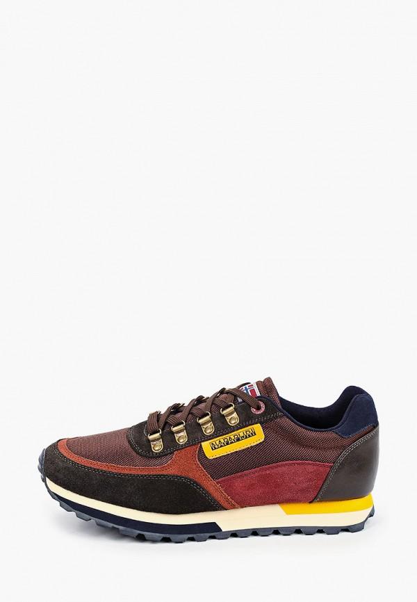 мужские кроссовки napapijri, коричневые