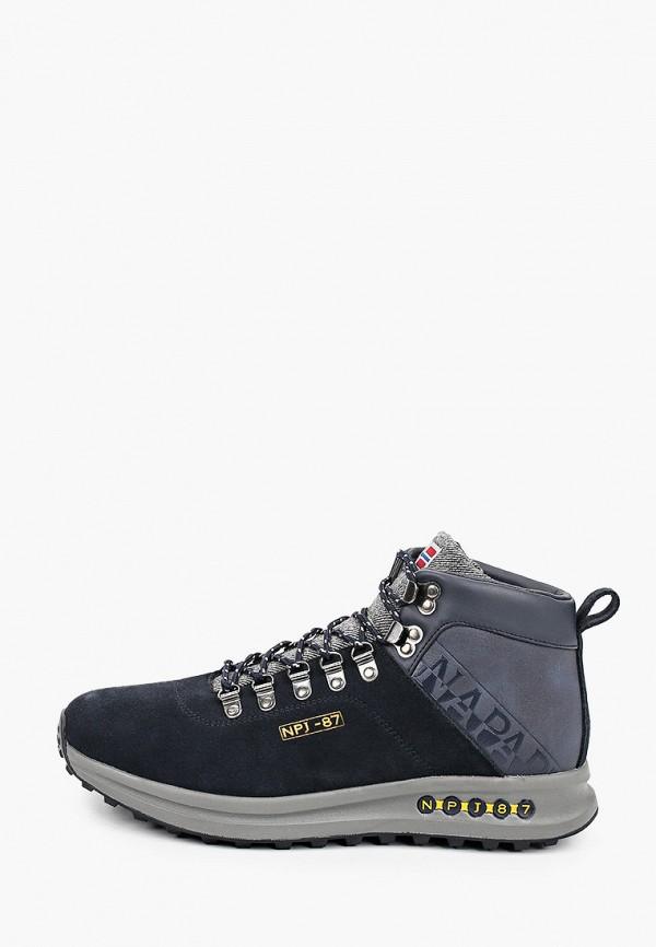мужские ботинки napapijri, синие