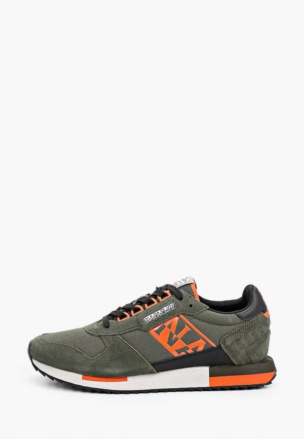 мужские кроссовки napapijri, зеленые