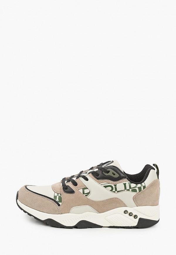 мужские кроссовки napapijri, бежевые