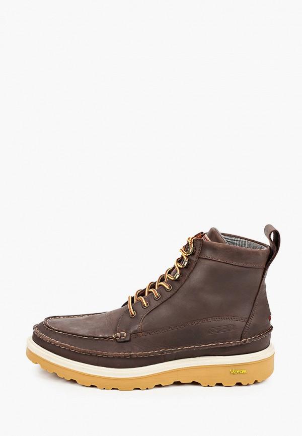 мужские ботинки napapijri, коричневые