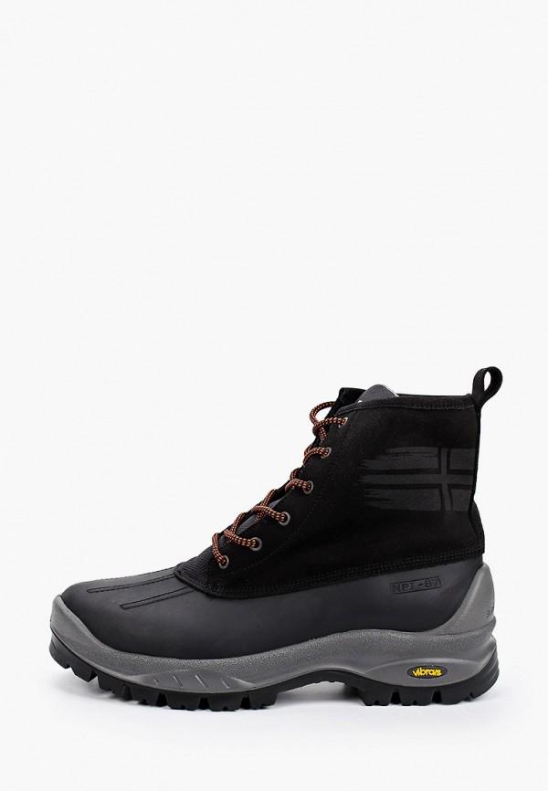 мужские ботинки napapijri, черные