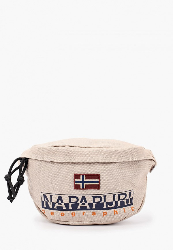 мужская сумка napapijri, бежевая