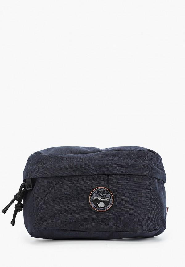 мужская сумка napapijri, синяя