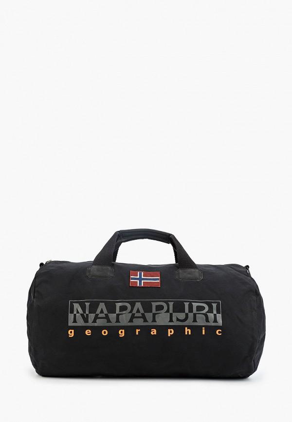 мужская сумка napapijri, черная