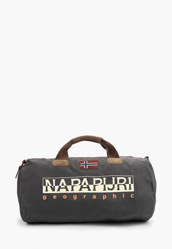 Купить Сумка спортивная Napapijri, BERING, na154budzmc3, серый, Весна-лето 2019