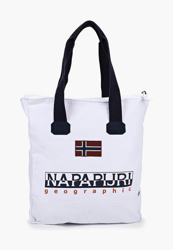 женская сумка napapijri, белая