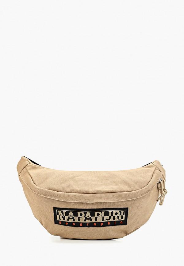 женская сумка napapijri, бежевая