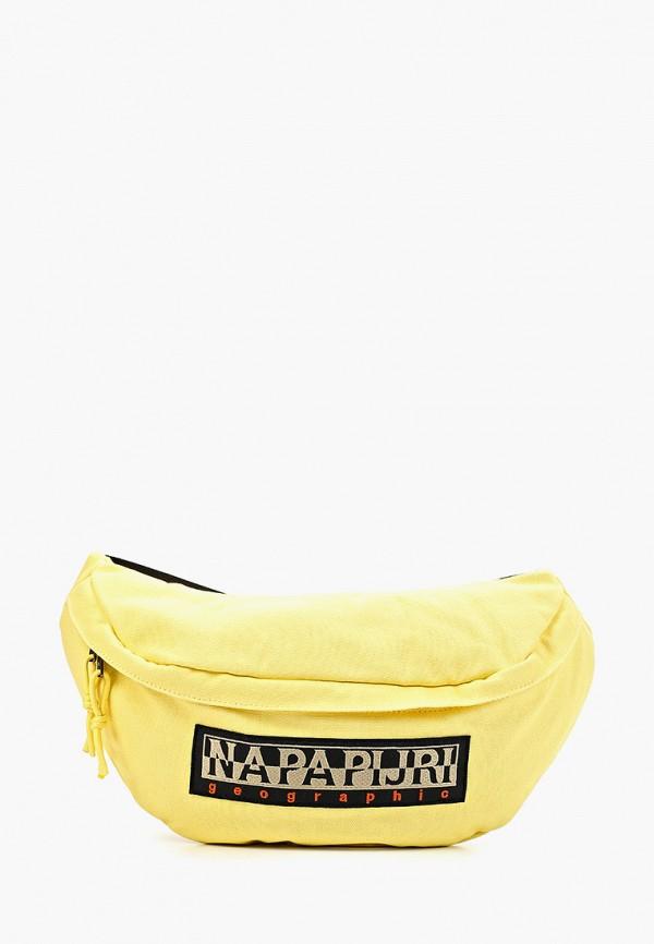 женская сумка napapijri, желтая