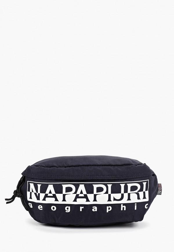 женская сумка napapijri, синяя