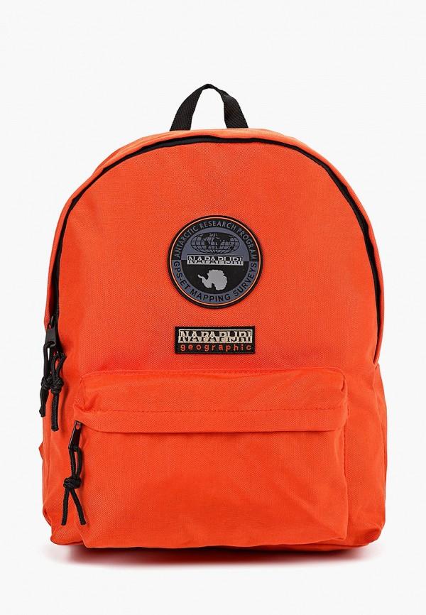 женский рюкзак napapijri, оранжевый