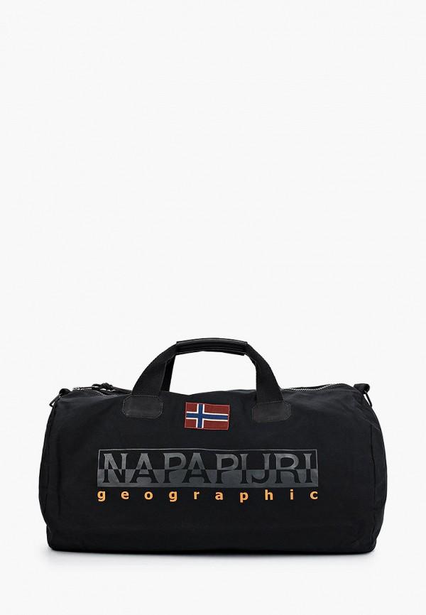 женская спортивные сумка napapijri, черная