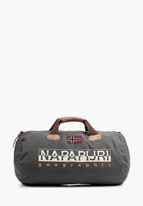 женская сумка napapijri, серая