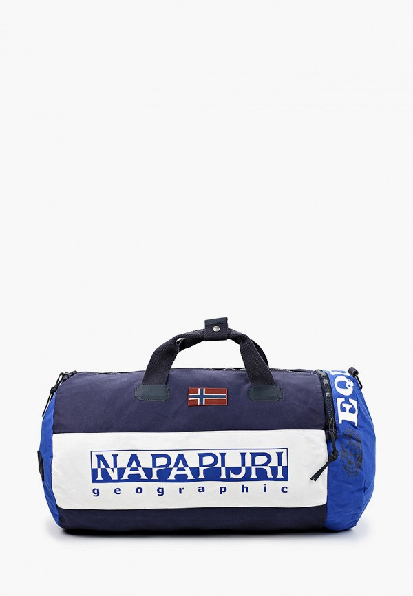женская спортивные сумка napapijri, синяя