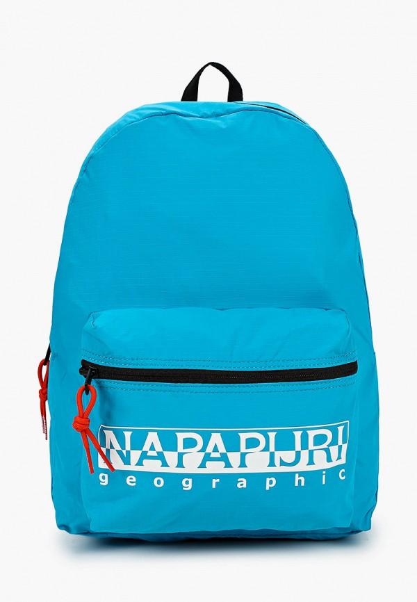 женский рюкзак napapijri, бирюзовый