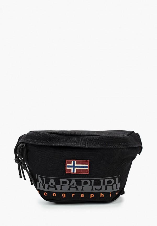 женская сумка napapijri, черная