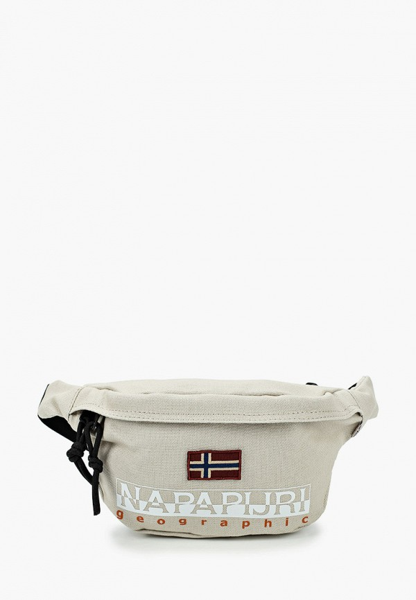 женская поясные сумка napapijri, серая
