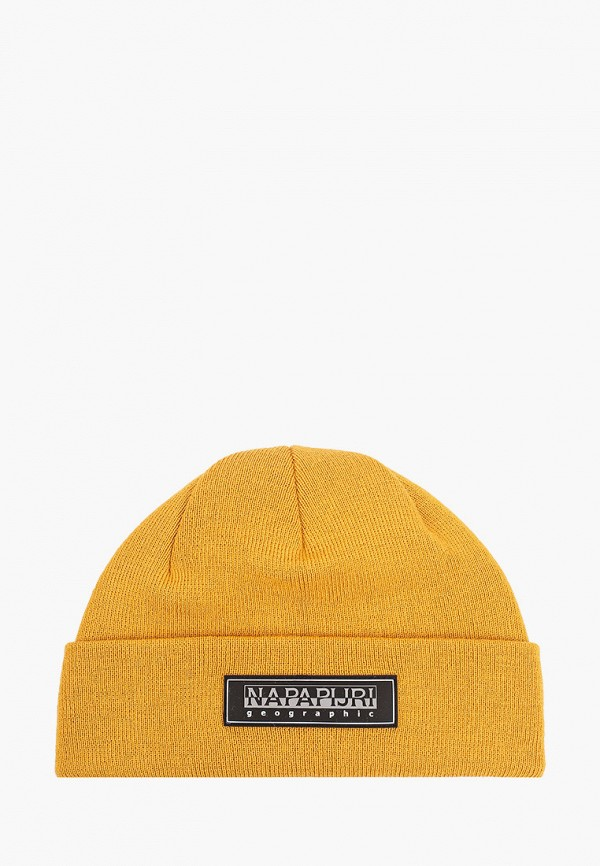 мужская шапка napapijri, желтая