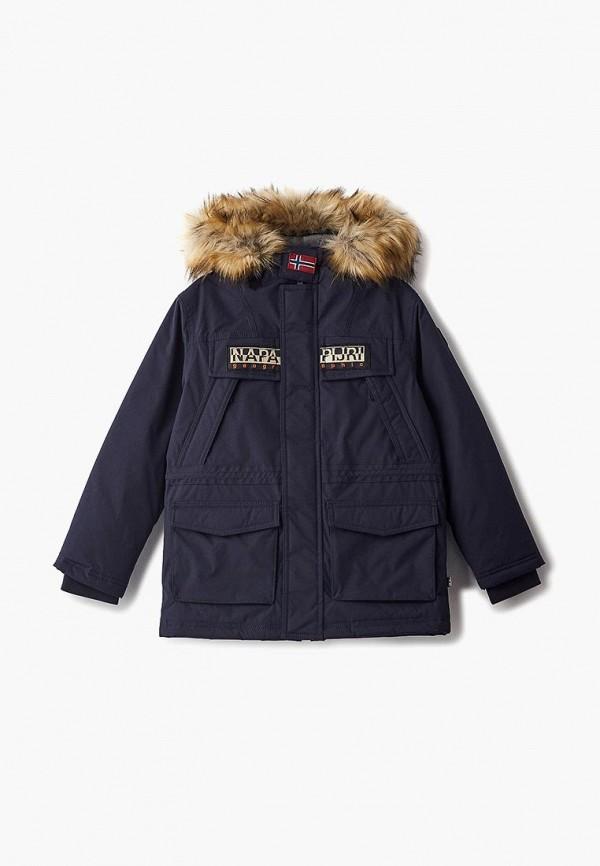 Купить Куртка утепленная Napapijri, na154ebcict9, синий, Осень-зима 2018/2019