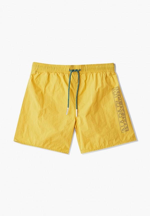 Купить Шорты для плавания Napapijri, VARCO, na154ebdzlz5, желтый, Весна-лето 2019
