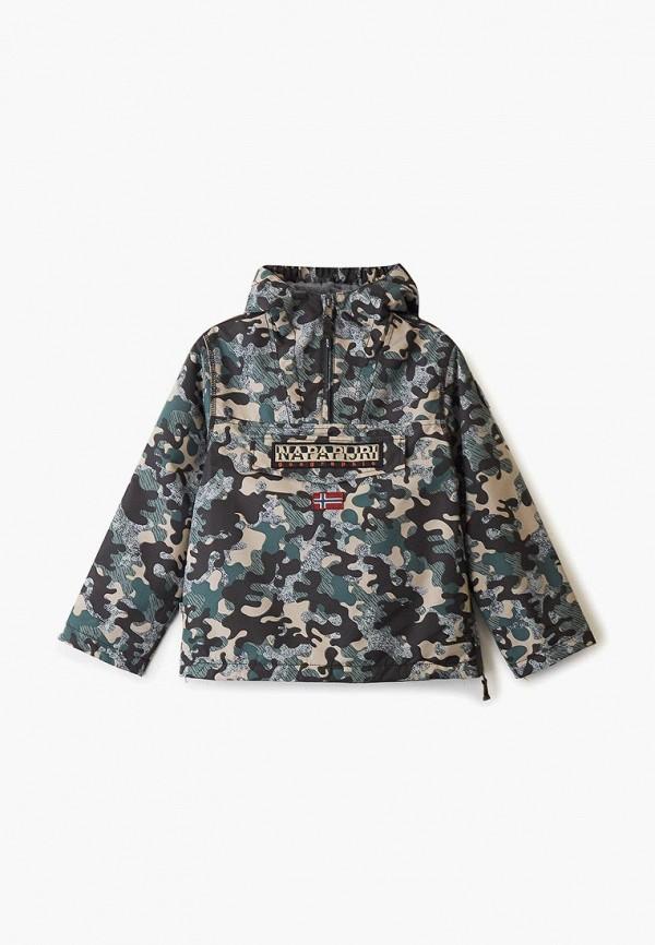 куртка napapijri для мальчика, хаки