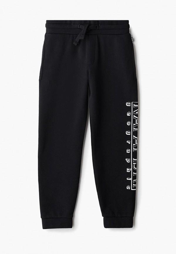 спортивные спортивные брюки napapijri для мальчика, черные
