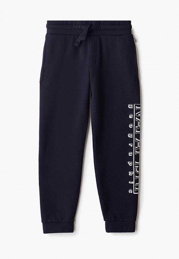 спортивные спортивные брюки napapijri для мальчика, синие