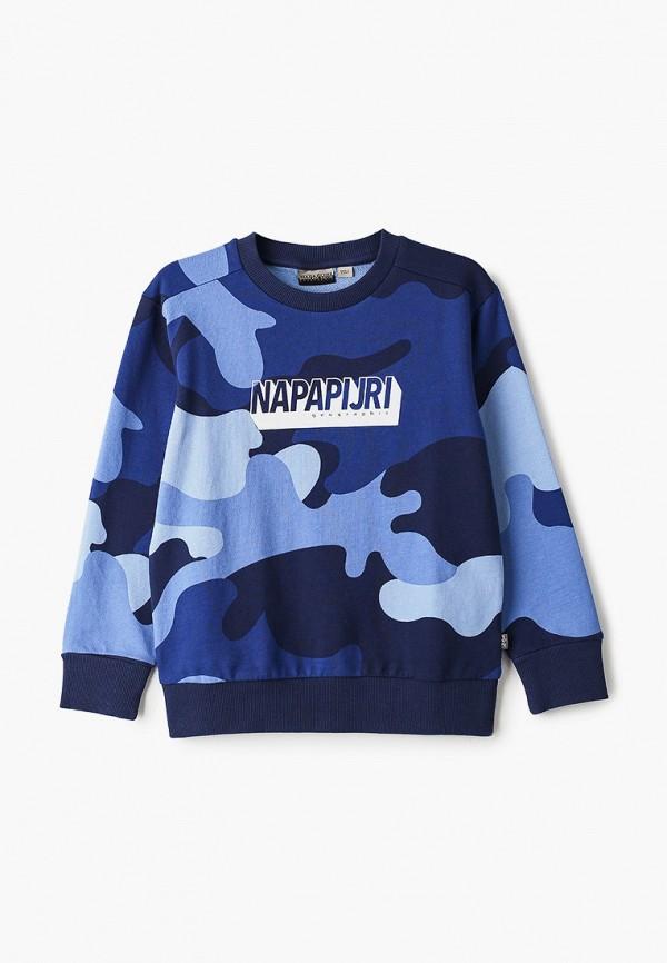 свитшот napapijri для мальчика, синий