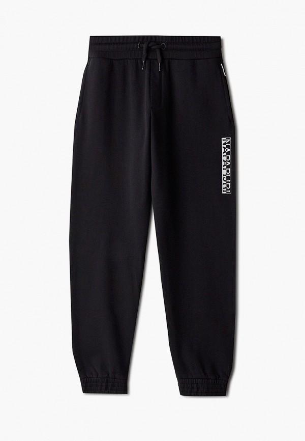 спортивные брюки napapijri для мальчика, черные