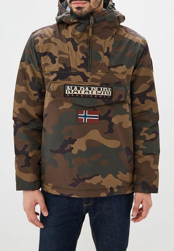Купить Куртка утепленная Napapijri, RAINFOREST, na154emcicm3, хаки, Осень-зима 2018/2019
