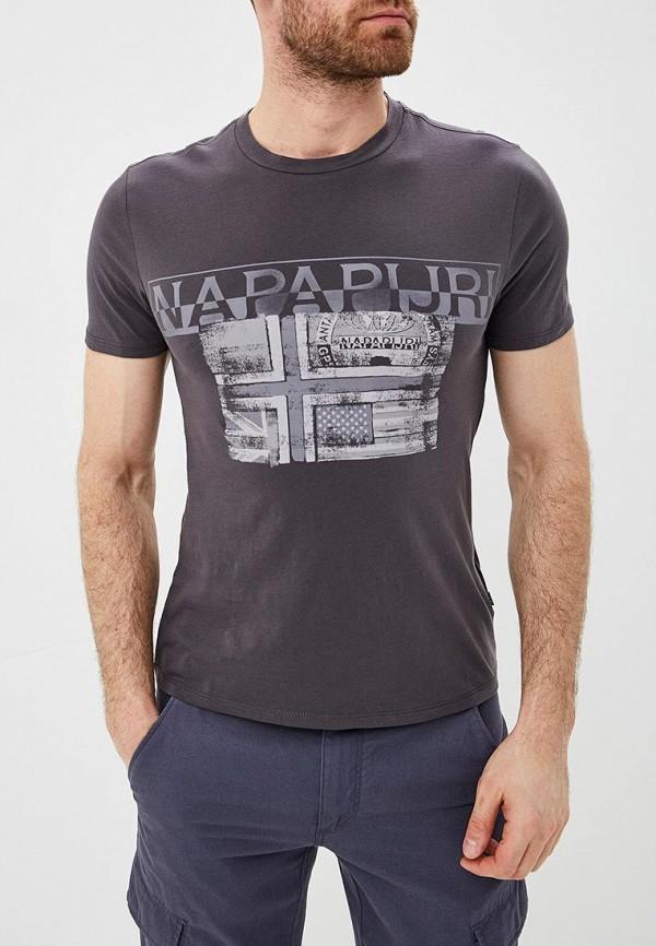 купить Футболка Napapijri Napapijri NA154EMDZLX1 по цене 3499 рублей