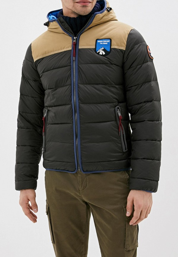 мужская куртка napapijri, хаки